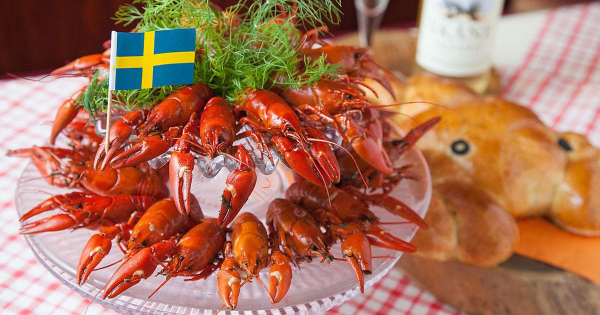 スウェーデンの夏を感じるザリガ...
