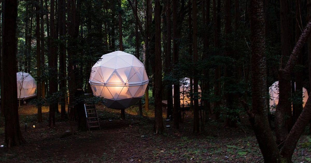 泊まれる公園「INN THE PARK」。話題の球体型ホテルってどんなの?│観光・旅行ガイド - ぐるたび