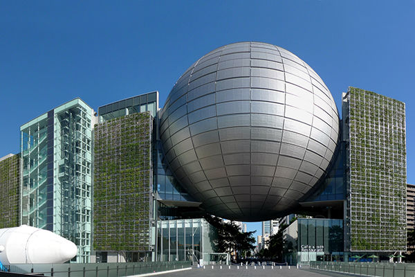 「世界ギネス記録を持つプラネタリウムがある名古屋市科学館」の画像検索結果