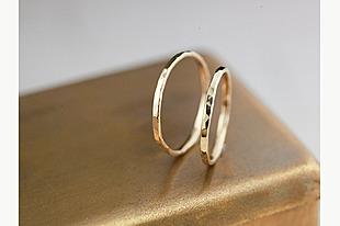 石川・金沢|叩いて仕上げるオリジナルの指輪作り体験♪K10ゴールド ※21世紀美術館の優待券付